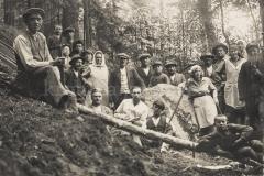 Kopání kamene na jamnický pomník